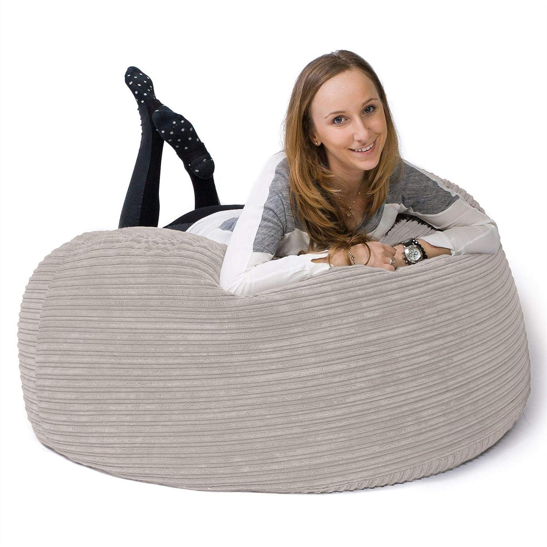 Lounge Pug®, Pouf Sacco Gigante 'Mammut', Corda Classica - Panna