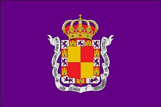 magFlags Bandera Large Ciudad de Jaén Andalucía, España   Bandera Paisaje   1.35m²   90x150cm: Amazon.es: Jardín