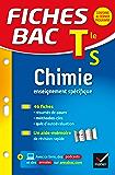 Fiches bac Chimie Tle S (enseignement spécifique) : fiches de révision - Termimale S