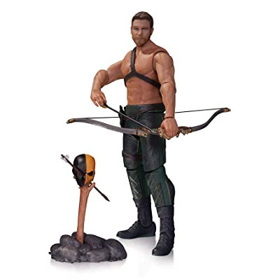 DC Collectibles Arrow: Oliver Queen & Totem Action Figure: Toys & Games