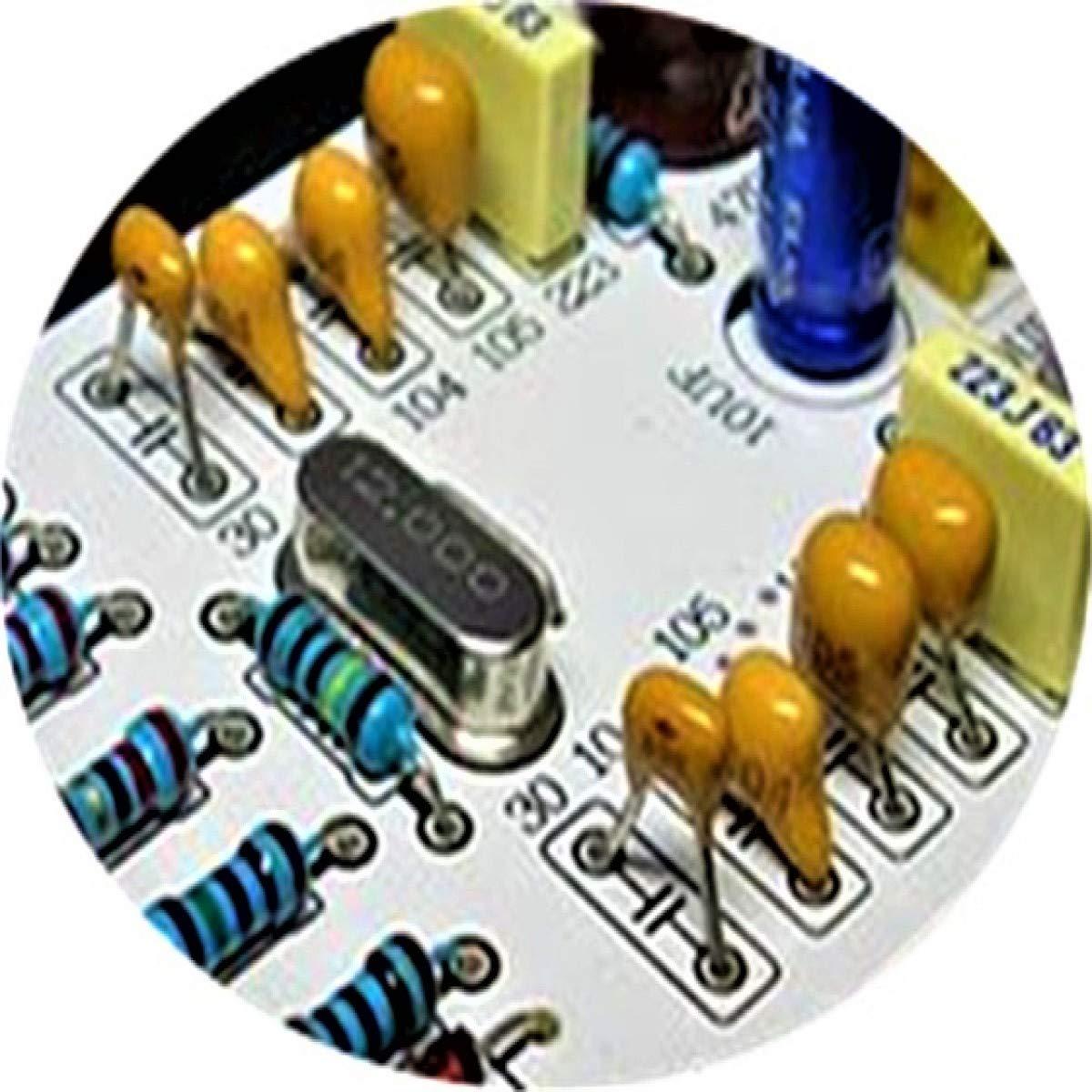 DaFuRui 330pcs DIP Monolithic Multilayer Ceramic Chip Capacitors Assortment Box Kit 22 Values X 15pcs 10pF-0.68uF