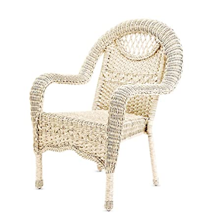 Strange Prospect Hill Wicker Chair Cloud White Gmtry Best Dining Table And Chair Ideas Images Gmtryco