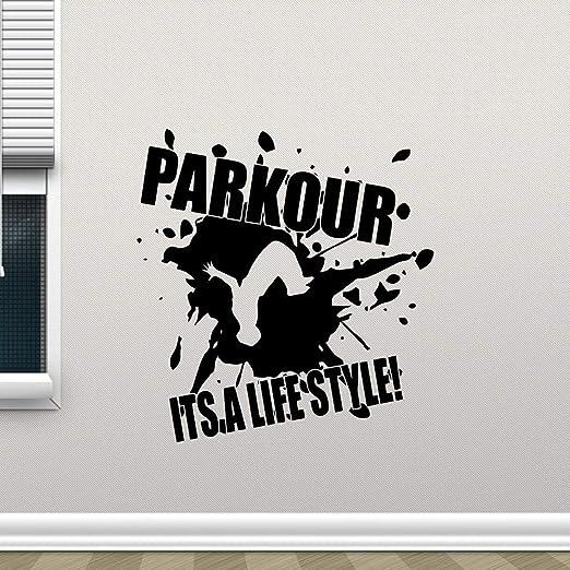 yaonuli Tatuajes de Pared Cotizaciones Parkour Lifestyle Vinilo ...