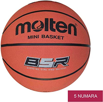 MOLTEN Balón Minibasket B5R Professional. Talla 5: Amazon.es ...