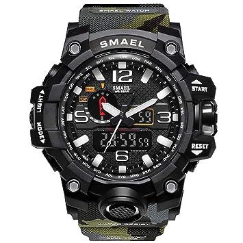 Blisfille Reloj Hombre Titanio Relojes de Hombre Reloj Digital Inteligente Impermeable Reloj de Deporte para Hombre Que Mide Las Pulsaciones Relojes ...