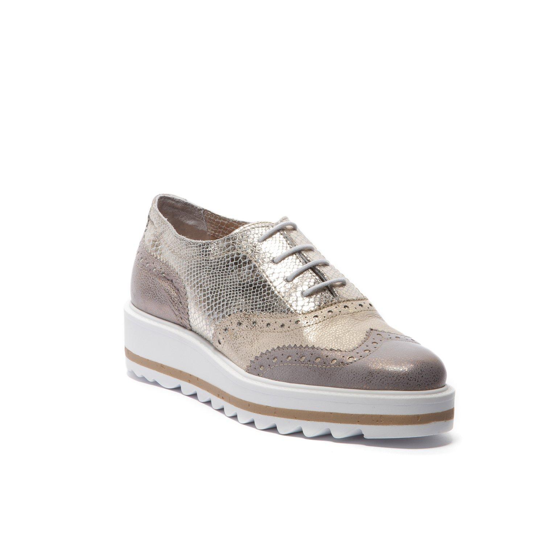 Easy'n Rose - Zapatos 298-006 para Mujer 38 EU|Plata / Bronce / Cobre
