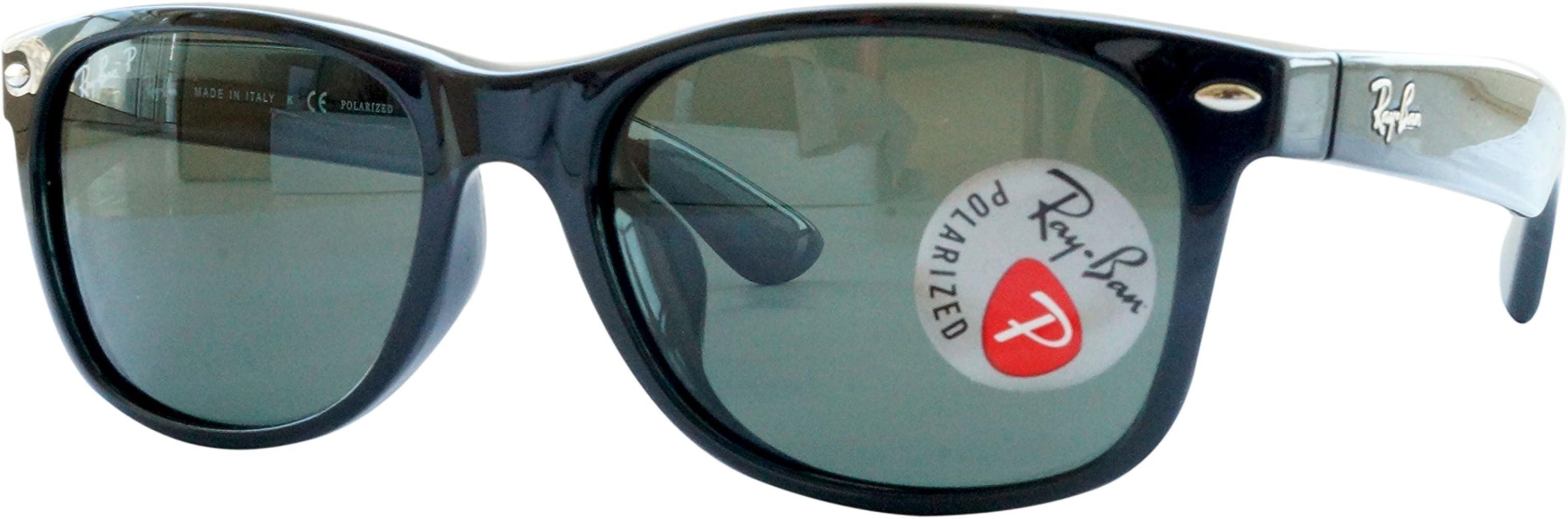 Ray-Ban New Wayfarer Classic RB 2132 Gafas de Sol, Negro ...