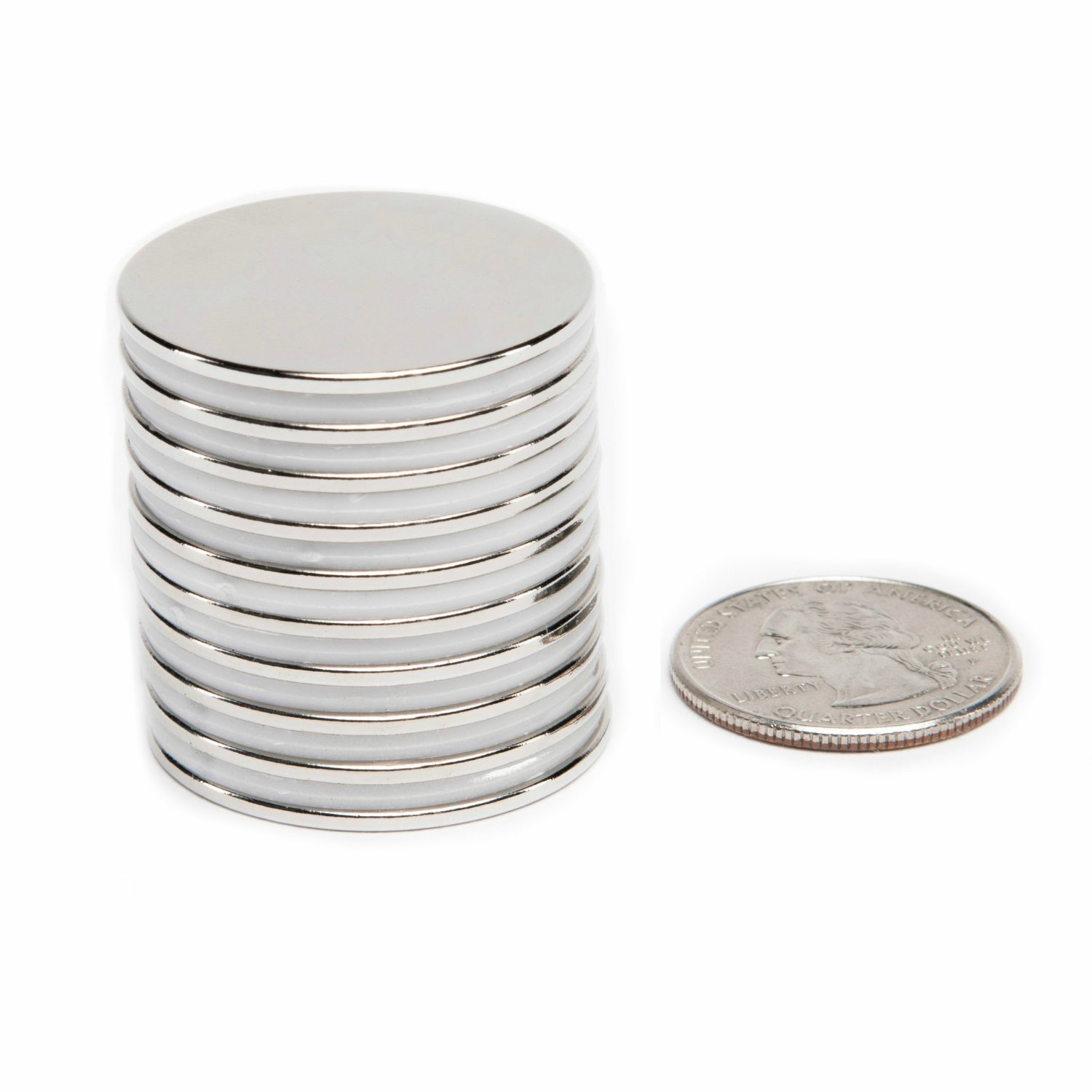 10 pcs N52 Super Strong Disc Magnets 20mm x 3mm Rare-Earth Neodymium Magnets chenyd118