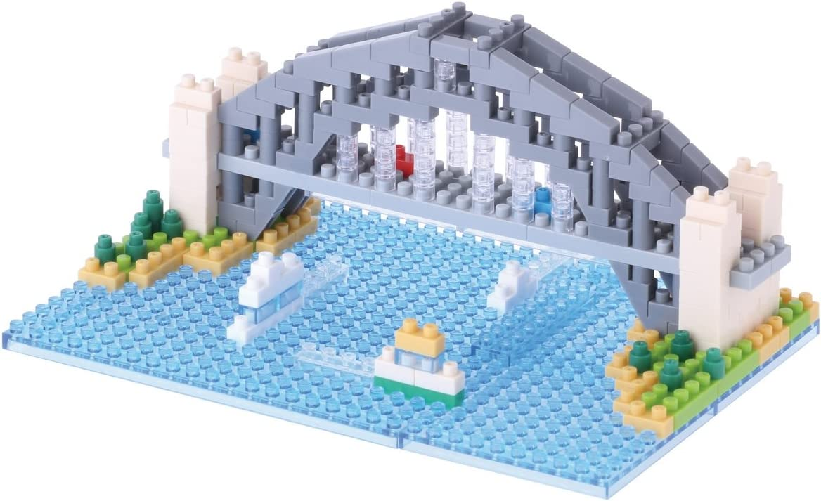 NANOBLOCK Sydney Harbour Bridge Nano Block Micro-Sized Building Blocks NBH-101
