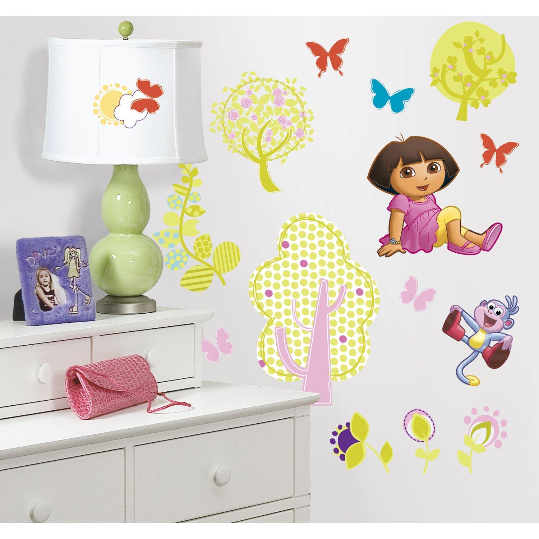 RoomMates RMK1378SCS Dora the Explorer Peel & Stick Wall Decals ...