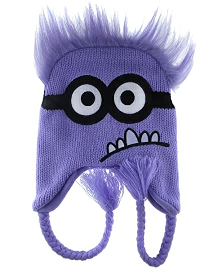 90c20851e74 Amazon.com  PURPLE Minion Despicable Me ~ Laplander Hat  Kitchen   Dining