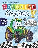 Mi primer libro para colorear - coches 1: Libro para colorear para niños de 4 a 12 años - 27 dibujos - Volumen 1 (coches colorear)