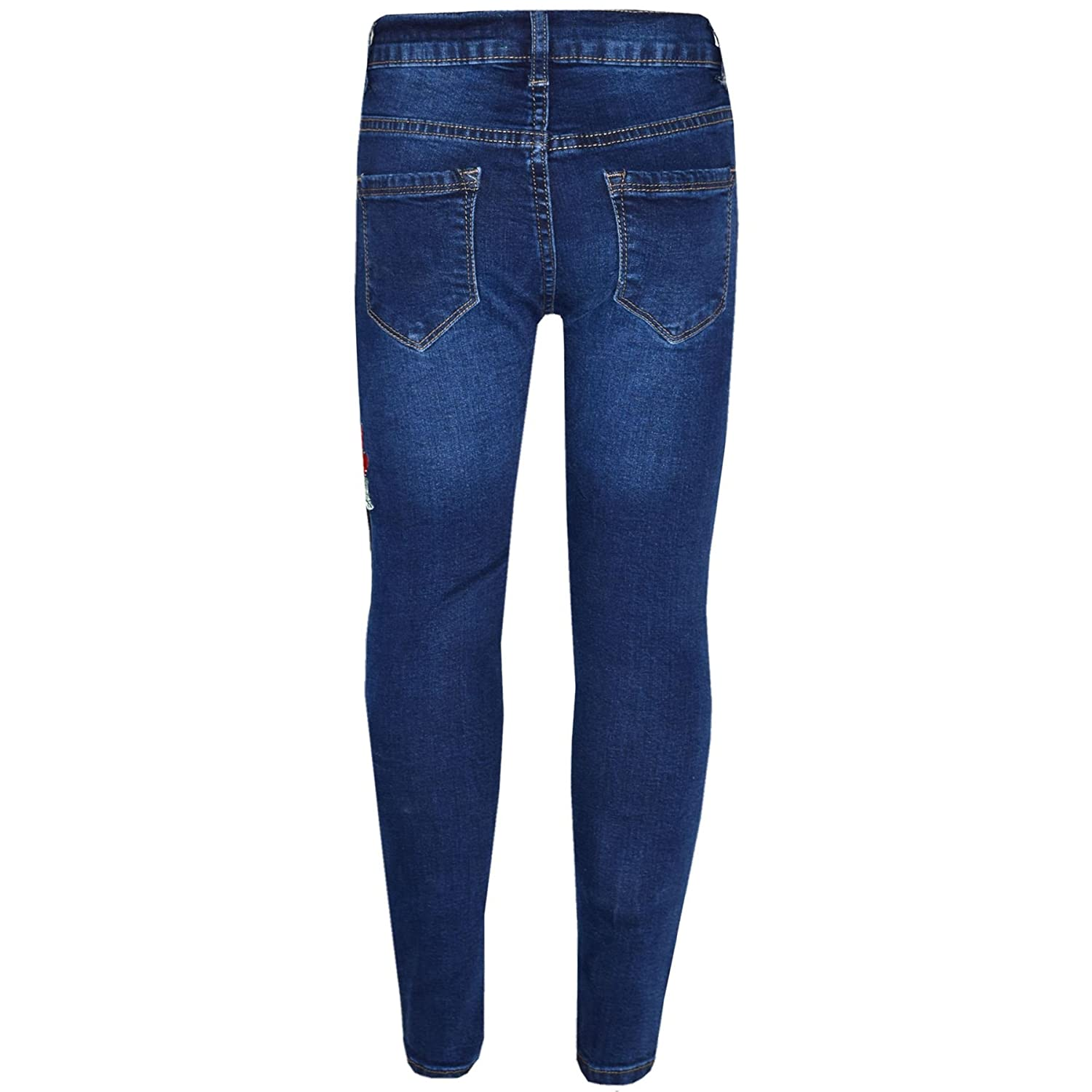 4921523393591 Amazon.com: Girls Stretchy Jeans Kids Ripped Denim Pants Trousers Jeggings  Age 5-13 Years: Clothing