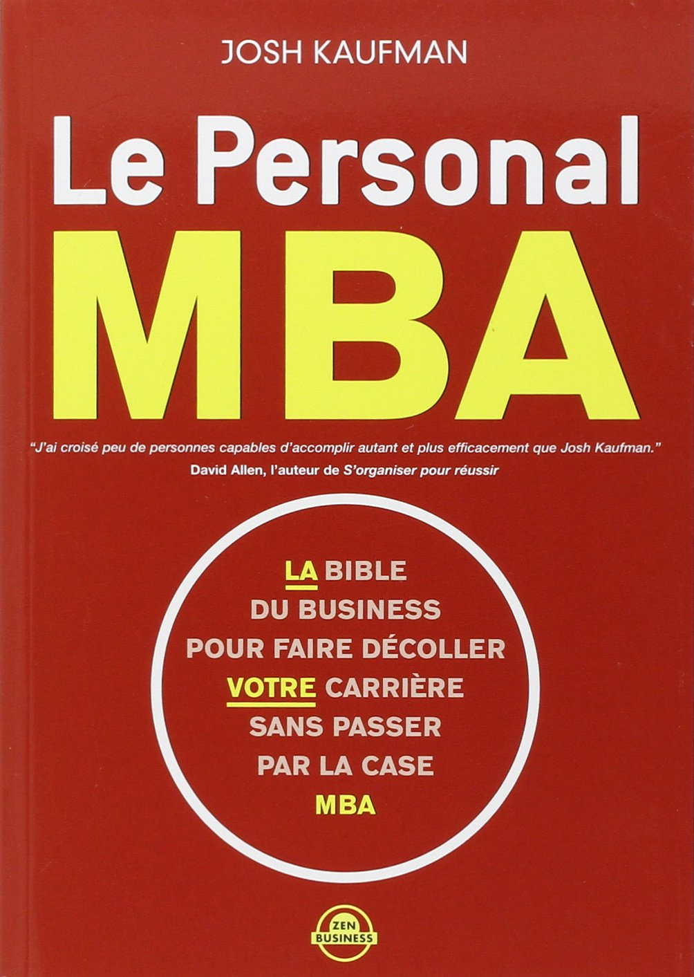Le Personal MBA: Amazon co uk: Josh Kaufman, Sabine Rolland