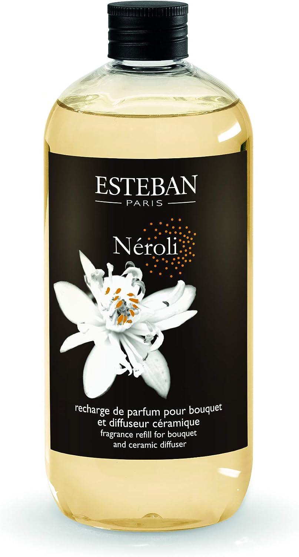 Esteban Paris Ricarica di profumo 500ml NEROLI per bouquet e diffusore in ceramica NER 044