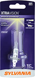 SYLVANIA - H1 XtraVision - High Performance Halogen Headlight Bulb, High Beam, Low Beam and Fog Replacement Bulb (Contains 1 Bulb)