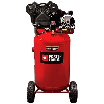 Porter Cable pxcmlc1683066 30-gallon sola etapa portátil compresor de aire