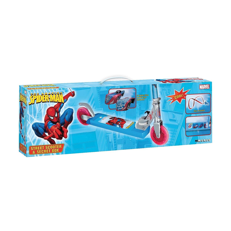 Mondo Motors Juego de Plein Air - Patinete - Spiderman con ...