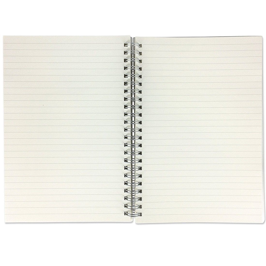 Zengest Spiral notebook Hardcover Wirebound notebook College Ruled Paper 160/pagine bianco B5 Ruled