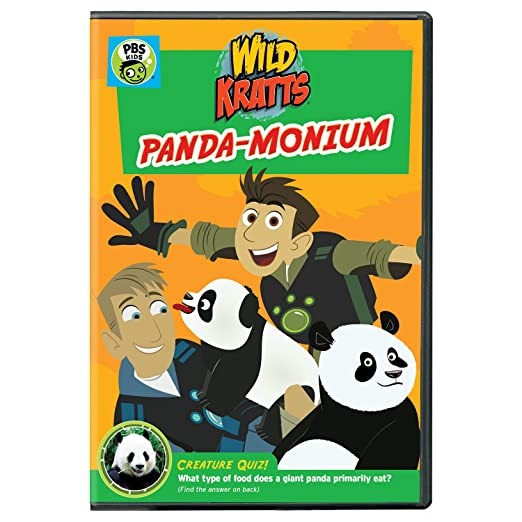 Wild Kratts: Wild Kratts: Panda-monium DVD