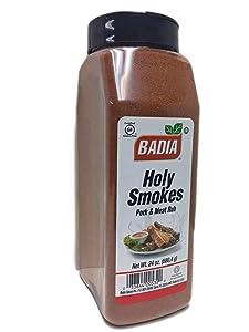 24 oz-Holy Smokes Seasoning Ribs Pork Meat Rub BBQ / Sazon para Costillas Kosher