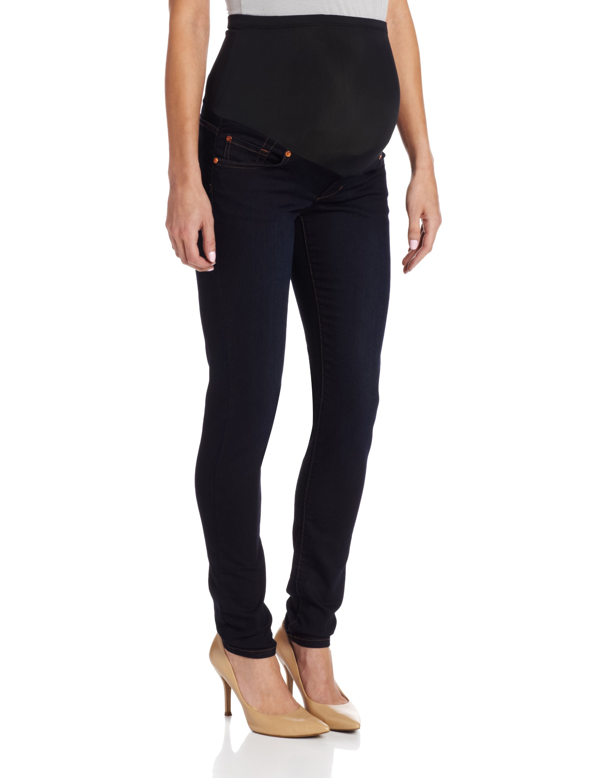 James Jeans Women's Maternity Twiggy Jean Legging,Dark,24
