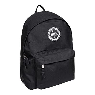 73d252ef9afd Hype Black Badge Backpack Rucksack Bag - Ideal School Bags - Rucksack For  Boys and Girls