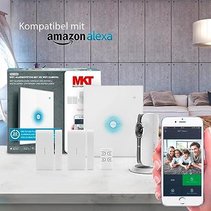 Multi Kon Trade: fo1402 WiFi Alarma con HD cámara WiFi ...