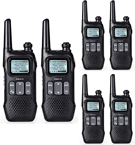 Radioddity FS-T1 FRS NOAA Two-Way Radio