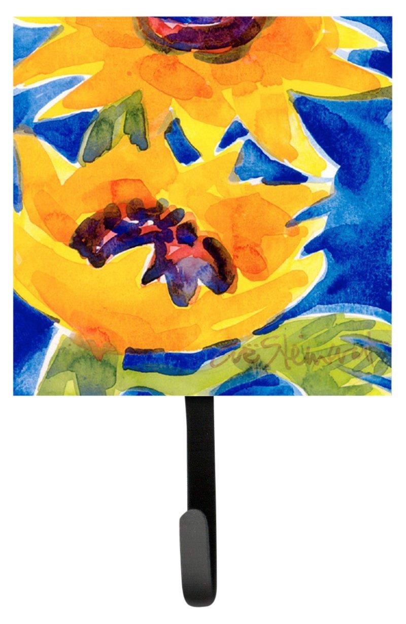 Multicolor Small Carolines Treasures 6012SH4 Flower-Sunflower Leash Holder or Key Hook