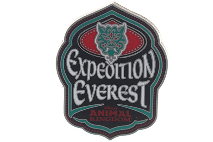 Amazon.com: Disney Expedition Everest Logo Pin: Clothing
