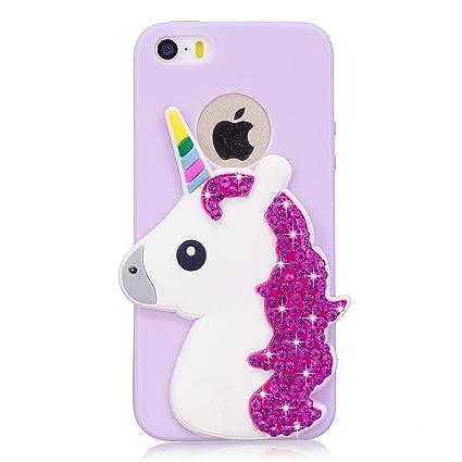 carcasa iphone 5s unicornio