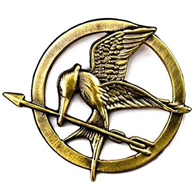 The Hunger Games Mockingjay Pin Badge Brooch Catching Fire Amazon