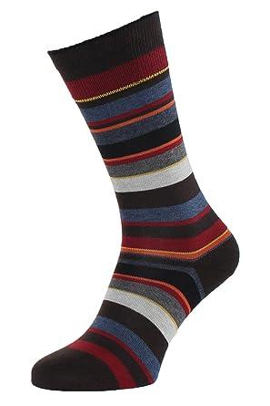 ddb07000fc0 Albert Kreuz chaussettes rayées pour homme - bas rayés multicolores   Amazon.fr  Vêtements et accessoires