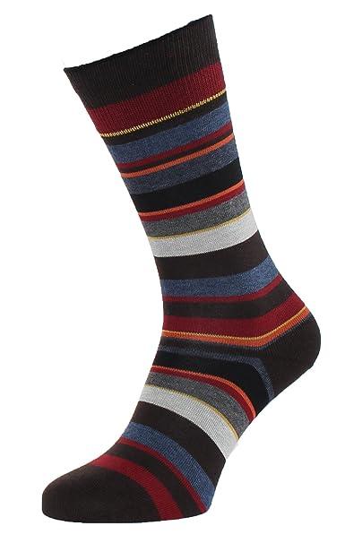 ALBERT KREUZ calcetines de rayas multicolor para hombre - Made in Germany: Amazon.es: Ropa y accesorios