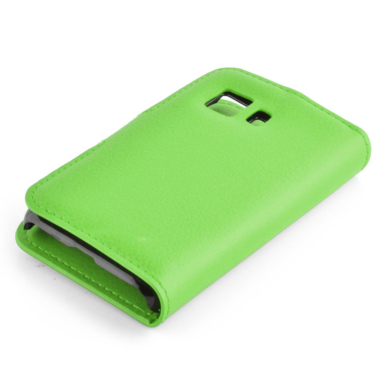6fa546a7fe6 Cadorabo Funda Libro para Samsung Galaxy Young 2 en Verde DE Menta:  Amazon.es: Electrónica