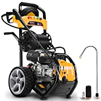 Powerplus 206 Bar 3060psi 180cc Petrol Driven Eco Drive Power Pressure Washer
