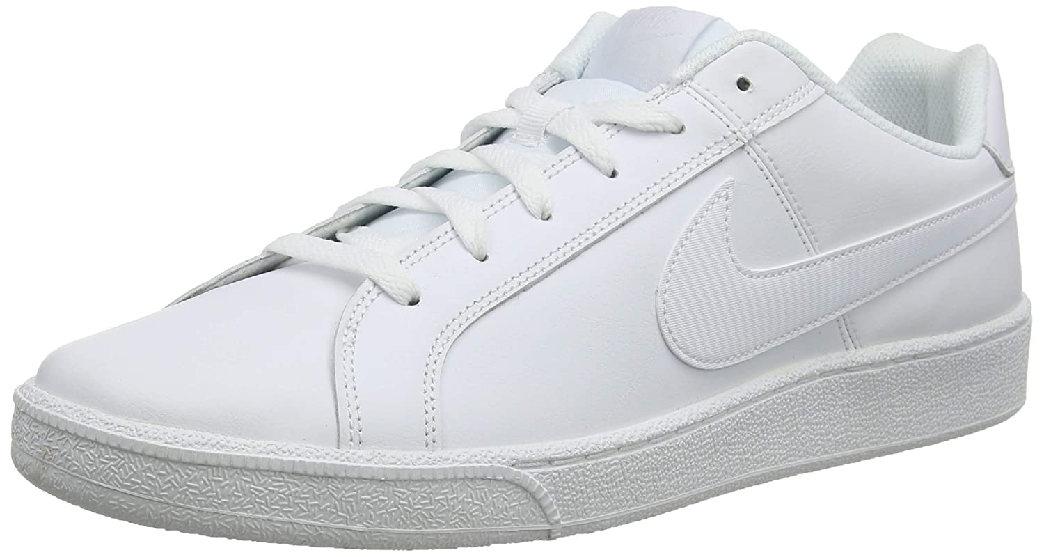 NIKE Men's Court Royale Gymnastics Shoes, White (WhiteWhite