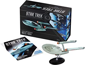 Star Trek The Official Starships Collection | U.S.S. Enterprise NCC-1701 11-inch XL Edition Model Ship Box by Eaglemoss Hero Collector