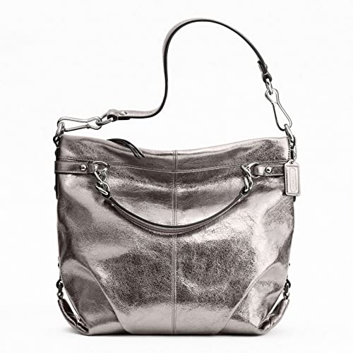 0624115a29 Coach Leather Brooke Shoulder Bag Purse 17165 Pewter  Amazon.ca  Shoes    Handbags