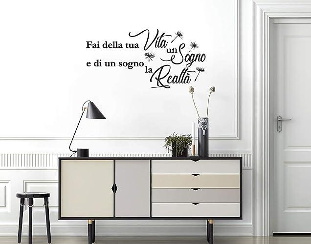 Adesivi Murali Frase Per La Vita Decorazioni Murali Scritte Sui Muri