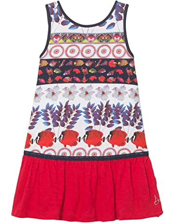 03aa61edb7d89 Desigual Girl Knit Dress Sleeveless (Vest Madison)