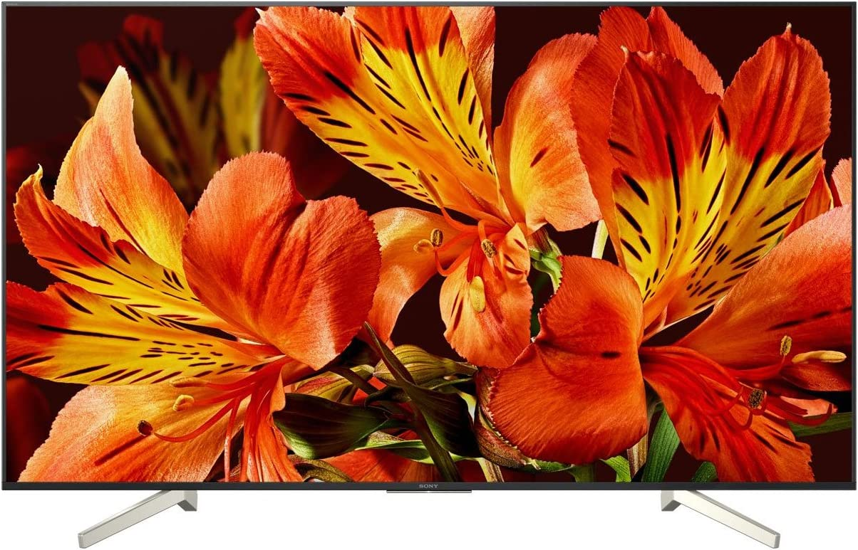 noir Sony KD-85XF8596 Motionflow XR 1000 Hz, 4K HDR Processor X1, TRILUMINOS, Wi-Fi Televiseur 85 4K HDR LED avec Android TV