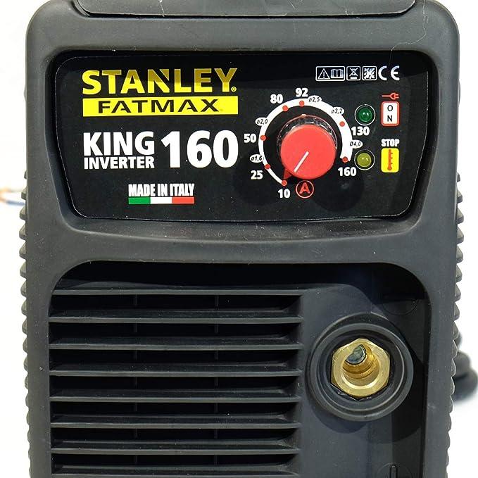 Estación de soldar inverter STANLEY FATMAX King 160 PRO 100% Duty ...