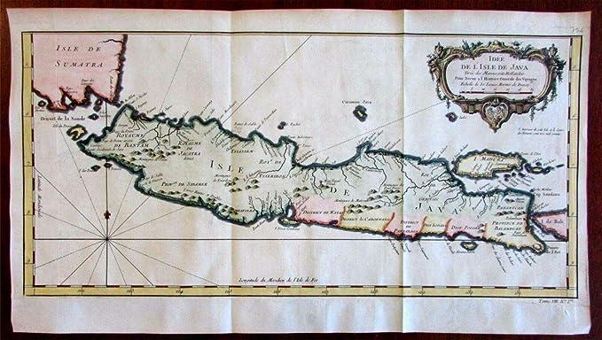 Amazon Com Java Island Indonesia Madura Bali Dutch 1750