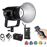 Godox VL150 LED Video Light, 150W 5600K Bowens Mount Continuous Video Light,CRI 96 TLCI 95, 61000Lux@1m, 0-100% Dimming, Blue