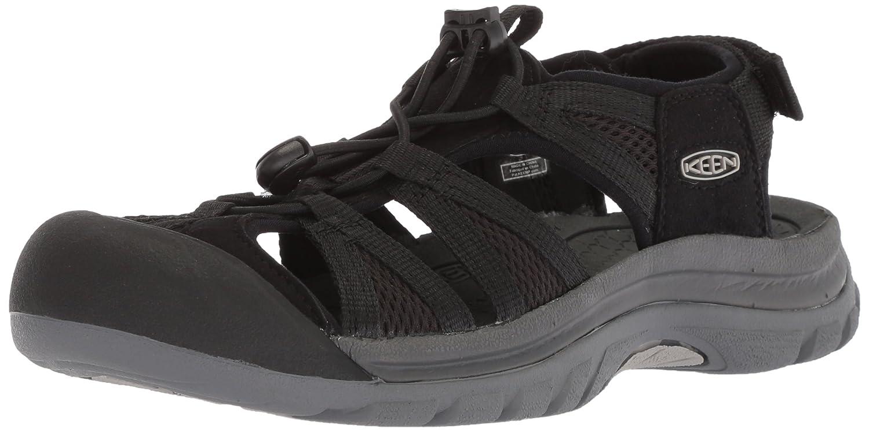 KEEN Women's Venice II H2-W Sandal B06ZZMYMXY 11 B(M) US|Black/Steel Grey