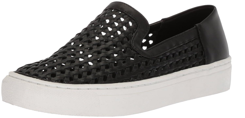 STEVEN by Steve Madden Women's Keats Sneaker B076431Z2P 9 B(M) US Black Suede