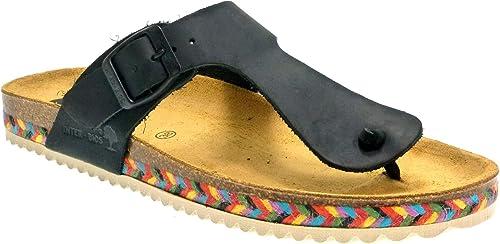 sandale interbios noir