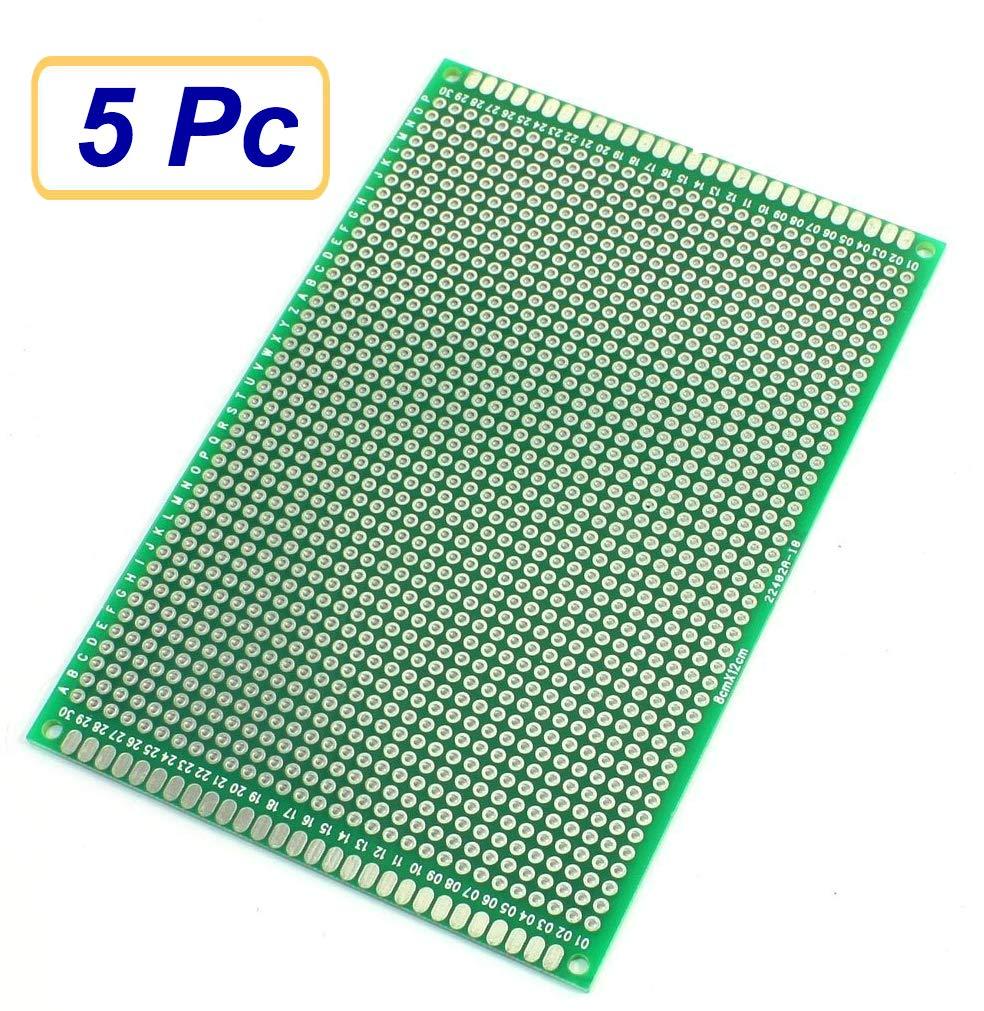 Free UK P/&P Double Sided 2x8cm upto 15x9cm Prototype Board Protoboard
